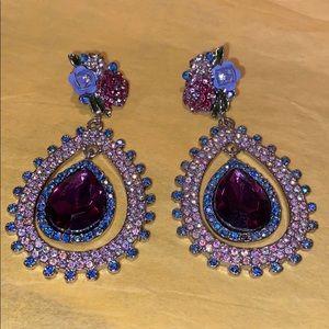 Betsey Johnson elegant earrings